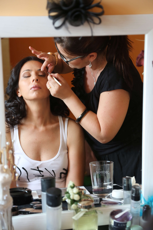 prueba maquillaje y peluqueria novia
