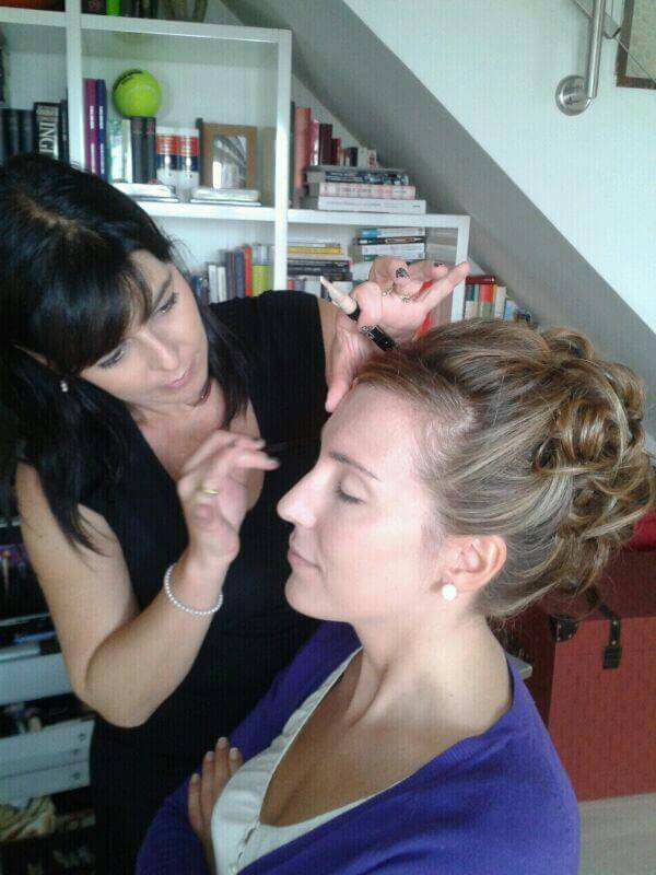 peinado y maquillaje novia