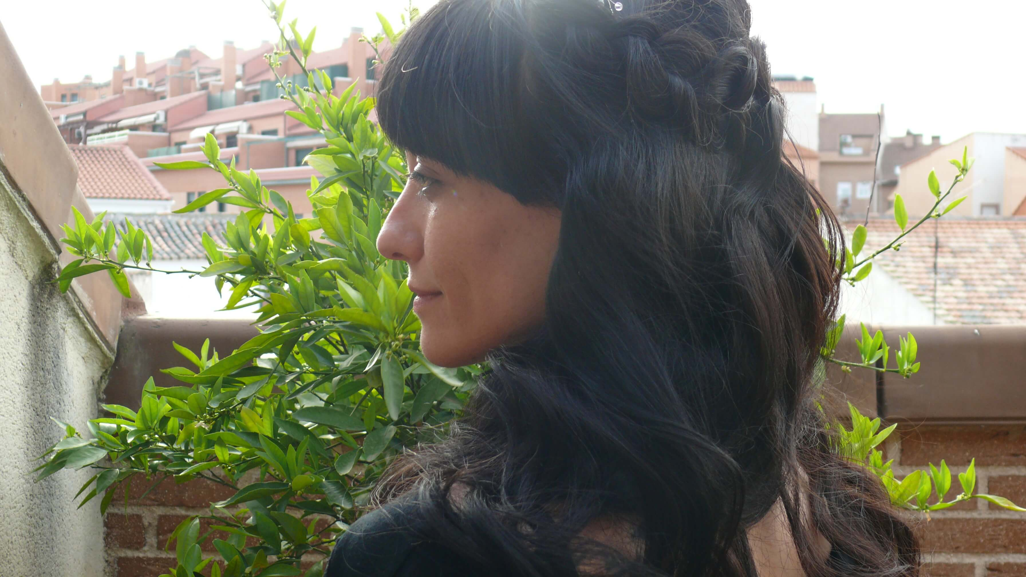 prueba novia pelo largo