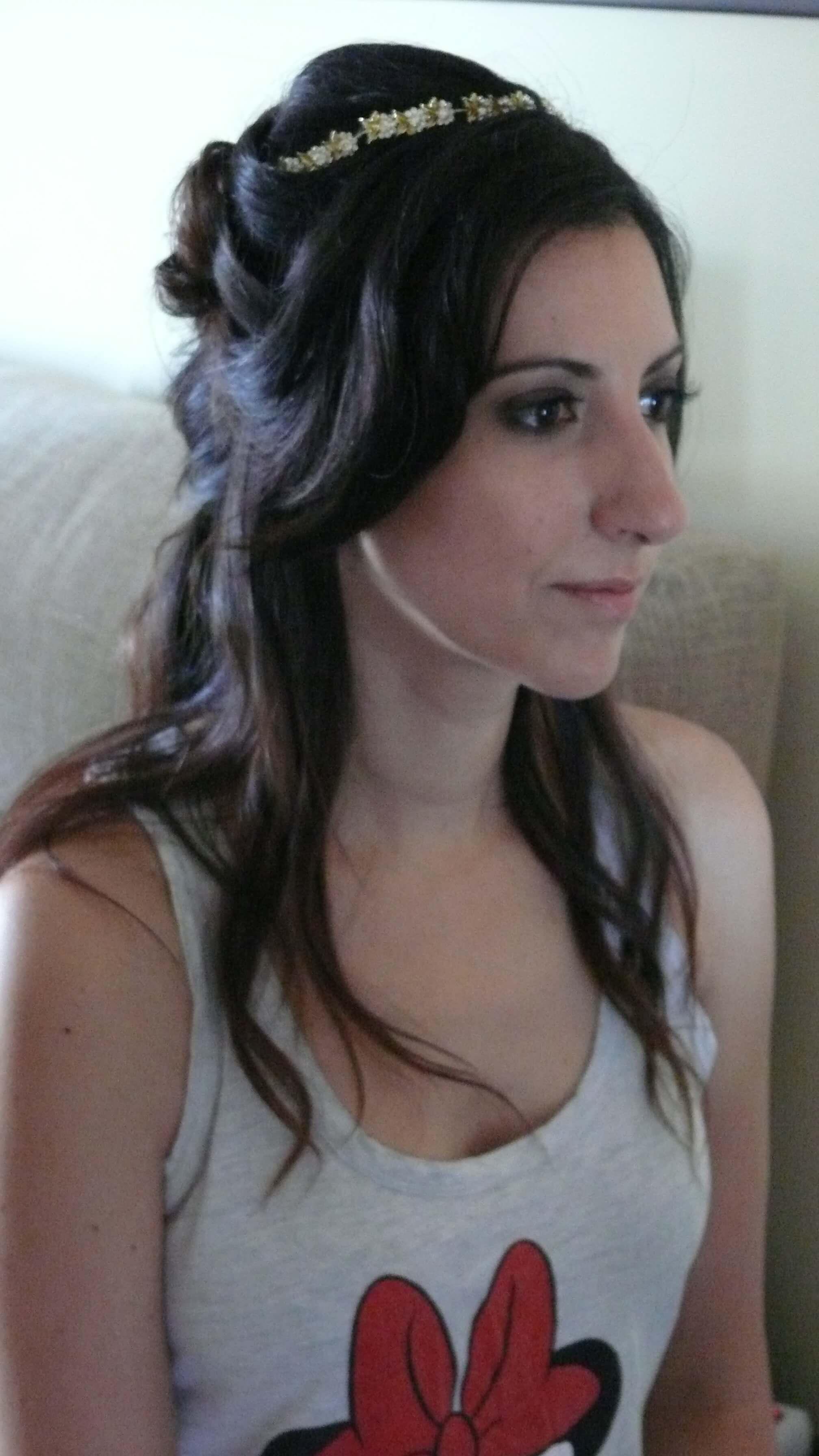prueba novia trenza pelo suelto